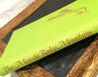 The Majestic Rocky Mountains, National Geographic book, coffee table book, travel book, Rocky Mountains, colorado, set