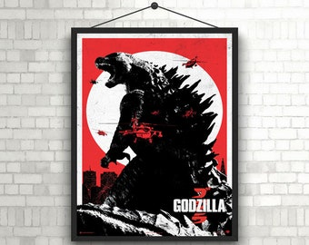 Godzilla Alternative Poster