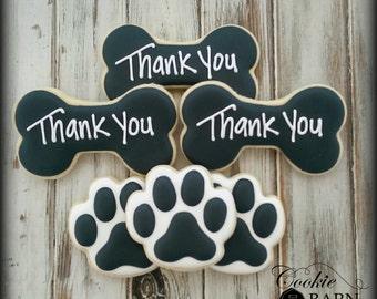 Dog Sitter - Dog Trainer - Dog Walker - Mans Best Friend - Decorated Cookies