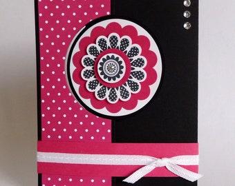 Craft Tutorial - Polka Dot Flip Card Tutorial