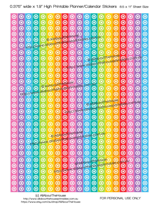 Calendar Planner Target : Target printable calendar planner stickers 1.9 long x