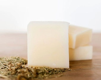 SAGE LEMONGRASS soap bar, natural soap, handmade soap, body wash, bar soap, gentle soap, natural skin care, queenofthemeadow 3.5 oz