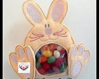 ITH Bunny Treat Holder Instant digital download