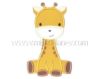Giraffe Applique Design