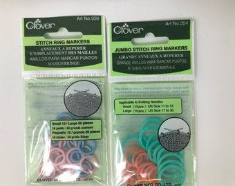 Stitch Ring Marker Set by Clover