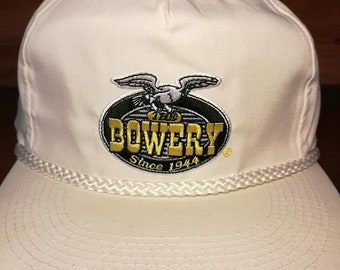 Vintage The Bowery Bar Mytle Beach South Carolina snapback hat