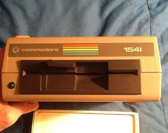Commodore 1541 Disk Drive Serial#AB1A53445 For Parts or Repair