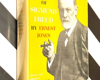 The Life and Work of Sigmund Freud by Ernest Jones (1961) hardcover book