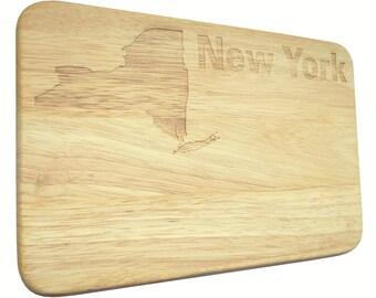 Brotbrett New York USA Breakfast Board engraving-Breakfast board-engrave
