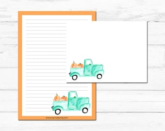 Stationery Set - it's fall y'all - letter writing
