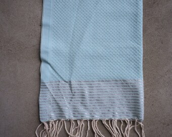 Light Blue Hand Towel