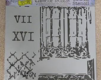 ARCHITEXTURE Gothic Architecture TCW 12 x 12 Stencil