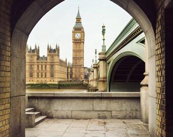 London photography, London art print, England photo, Big Ben, home decor, London picture, British art - Ben