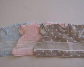 Bib covering embroidery stitch count