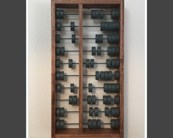 Rustic Chunky Abacus