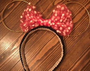 Wire Minnie Mouse Ears