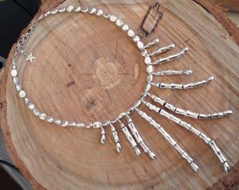 Short metal Necklace