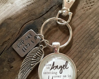 Angel in Heaven Keychain or Necklace