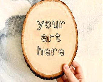 Customized Wooden Canvases