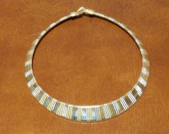 Vintage Gold and White Gold Necklace