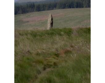 Machrie Moor Fine Art Photography Outlander Scotland Standing Stone Ancient Pagan Mysterious Magical Dreamy Romantic Scottish Landscape Art