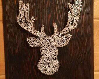 String Art- Deer String Art- Hunting