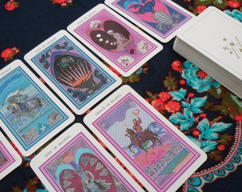 Tarot Reading 8-12 Card Spread
