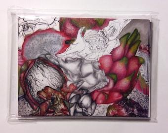 Dragon Fruit Card Set