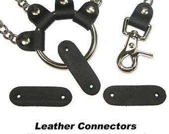 "Leather Connector 3/4""x 2-3/8"" Buffalo"