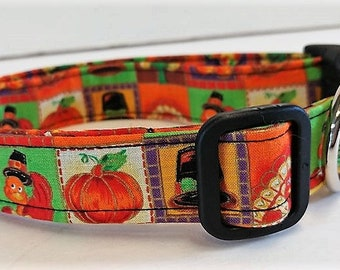 Happy Thanksgiving collar by Doodlebug Duds