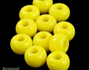 6/0 Opaque Lemon Seed Bead (40 Gram) #CSB108