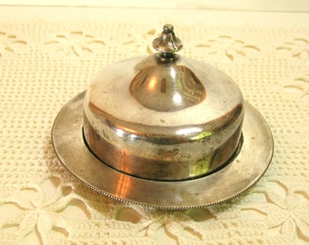 Reed And Barton Small Silverplated Covered Dish No 2100