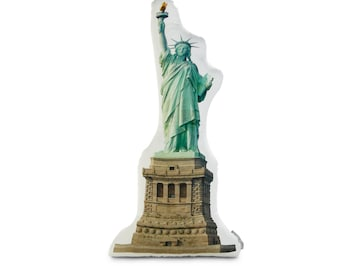 Statue of Liberty Printed Pillow