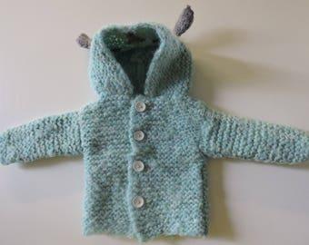 Coat with hood (coat)