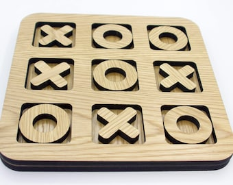 Oak Tic-Tac-Toe Game