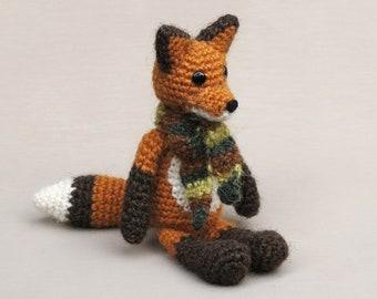 Crochet amigurumi fox pattern
