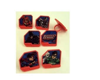 Justice League Rings