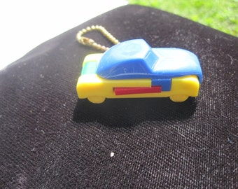Colorful Car Puzzle Key Ring