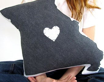Customizable Missouri State Pillow
