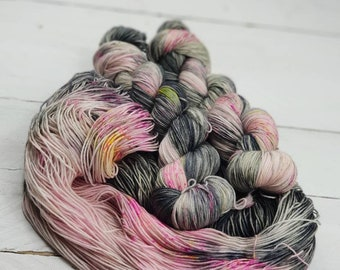 Live a little Sock & Dk hand dyed yarn