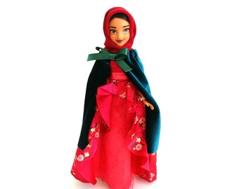 Muslim Doll, Eid Gift, Hijarbie Doll, Islamic Toys, Muslim Toys, Islamic Dolls, Islamic Gifts, Muslim Barbie, Asian Doll, Ethnic Doll