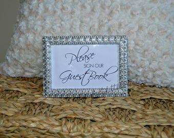 Custom Wedding Guestbook Sign, Digital File
