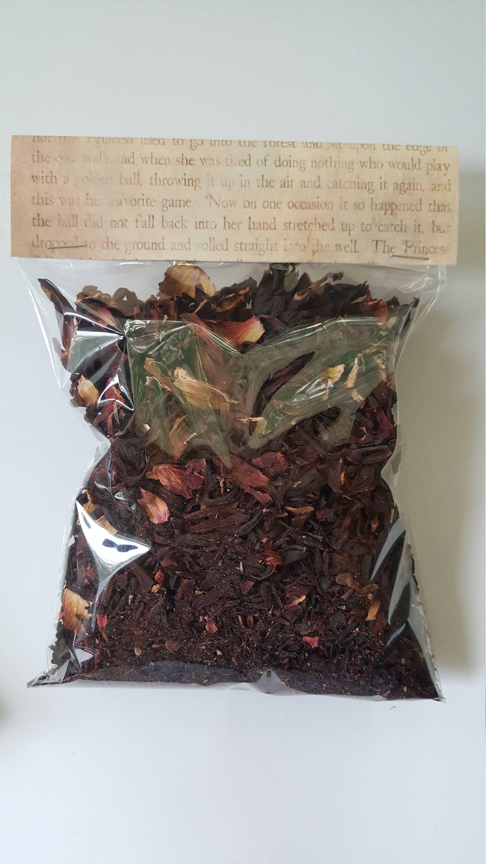 Dried Hibiscus Flowerherbal Infusionsherbal Teasbeauty