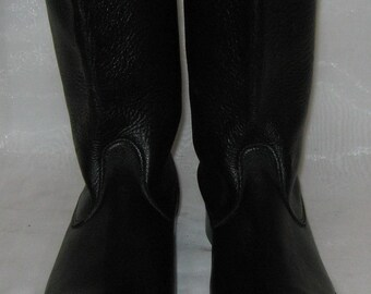 Vintage German Army Officer  Boots  size 41 (EU 42, US 8.5)