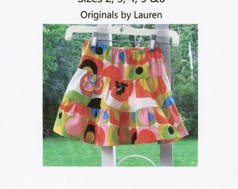 PDF Sewing Pattern Children's Twirl Skirt