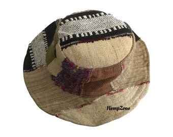 Eco Friendly Hemp Safari Hat