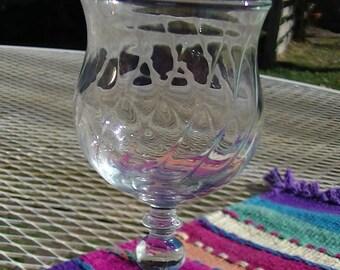 Vintage Avon  Crystal Cordial Glass