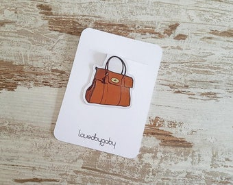 Magnetic bookmarks bags