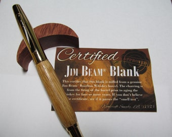 Jim Beam Roller Ball Pen/ Bourbon Pen