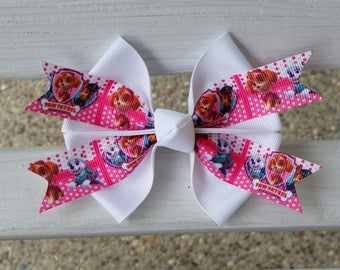 Paw Patrol Skye and Everest Hair Bow (4 inch)